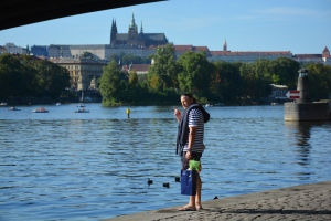 Prague pot summer